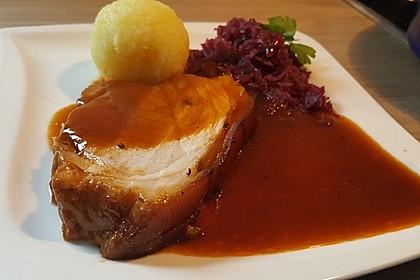 Knuspriger Schweinekrustenbraten 5