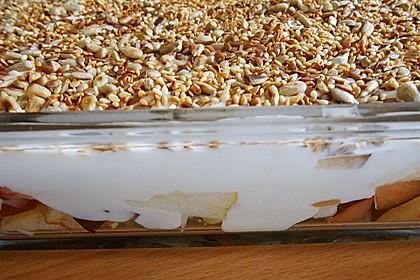 Nicis Obst-Quark-Schichtsalat 1