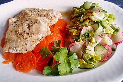 Gedünstetes Fischfilet 1