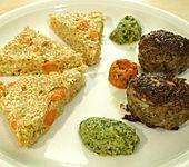 Quinoa-Möhren-Gratin