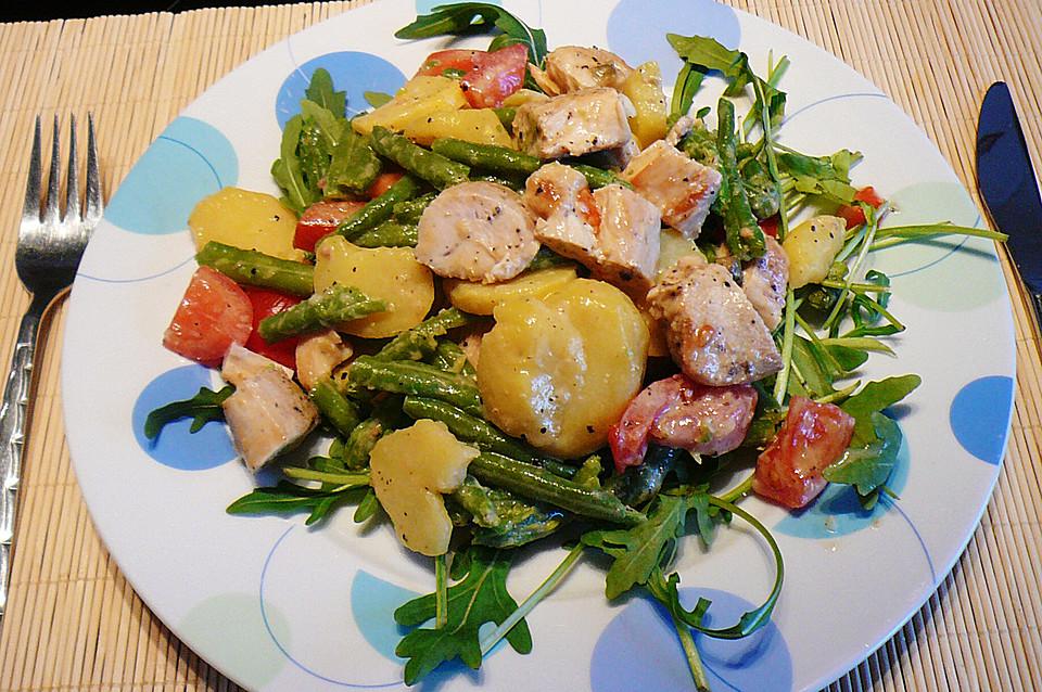 Kartoffel bohnen salat rezept