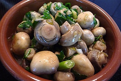 Champignons in Sherry