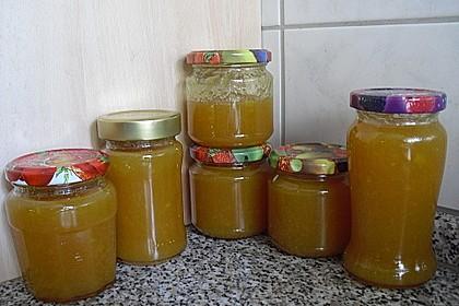 Pfirsich-Nektarinen-Marmelade 4