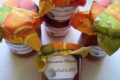 Pfirsich-Nektarinen-Marmelade 1