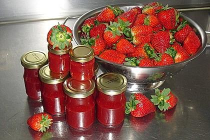 Fruchtig-süße Erdbeermarmelade 1