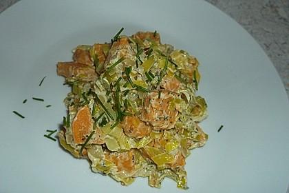 Süßkartoffel-Lauch-Pfanne 3