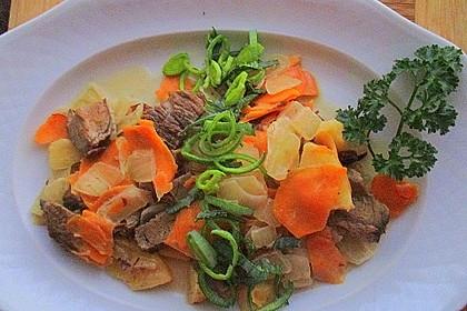 Süßkartoffel-Lauch-Pfanne 19