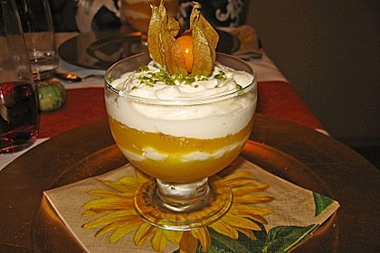 Mango-Mascarpone Dessert 1
