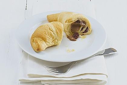 Cremige Schoko-Croissants mit Philadelphia