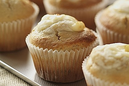Cheesecake-Muffins mit Philadelphia