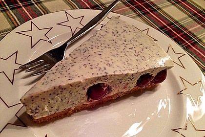 Philadelphia Torte Kirsch-Mohn 1