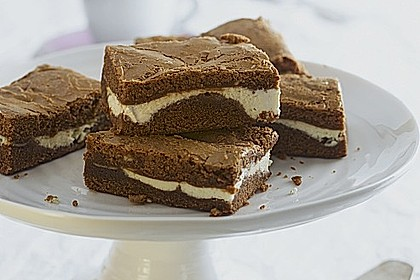 Geschichtete Philadelphia-Cream Cheese Brownies