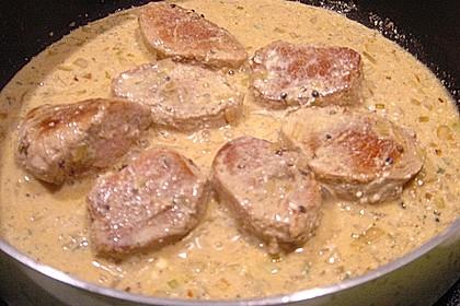 Schweinefilet in Kräuter-Senf Soße 7