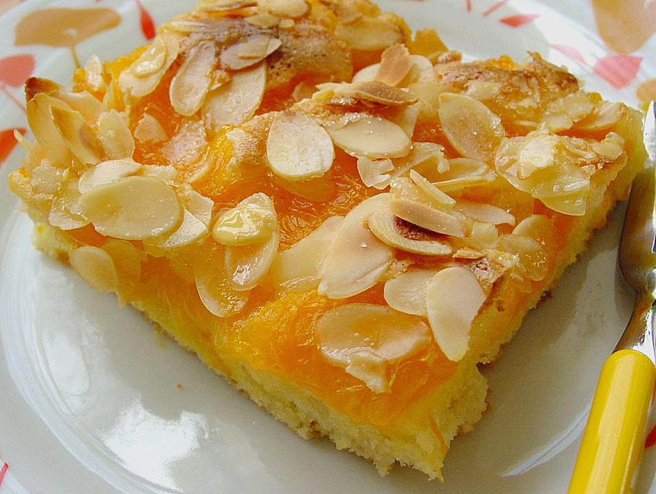 Mandarinenkuchen rund