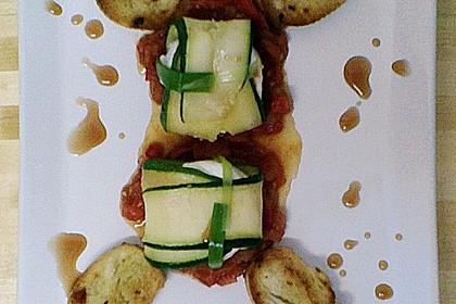 Ziegenfrischkäse im Zucchinimantel 33