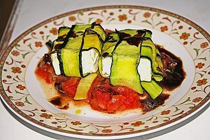 Ziegenfrischkäse im Zucchinimantel 26