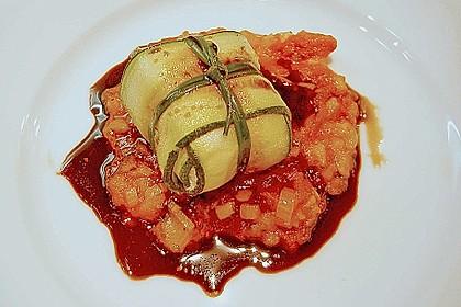Ziegenfrischkäse im Zucchinimantel 18