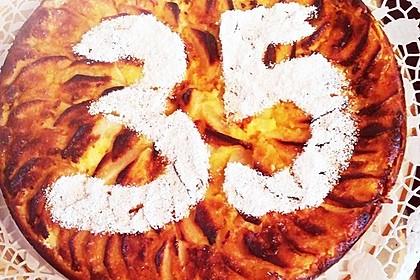 Apfelkäsekuchen 6