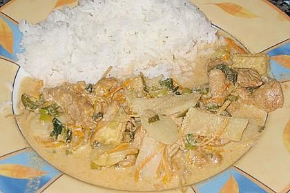 Thailändisches Chickencurry 12