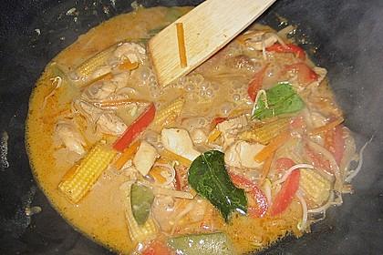 Thailändisches Chickencurry 9