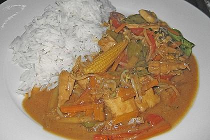 Thailändisches Chickencurry 10