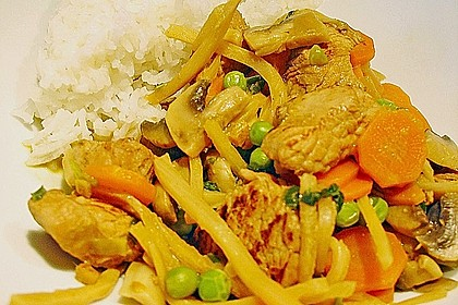 Thailändisches Chickencurry 8