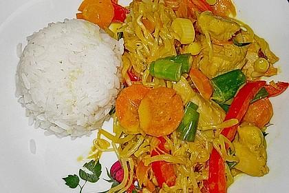 Thailändisches Chickencurry
