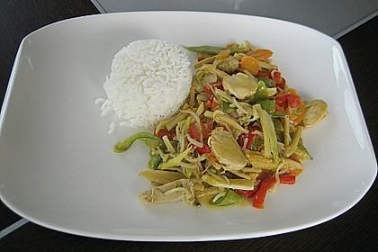 Thailändisches Chickencurry 3