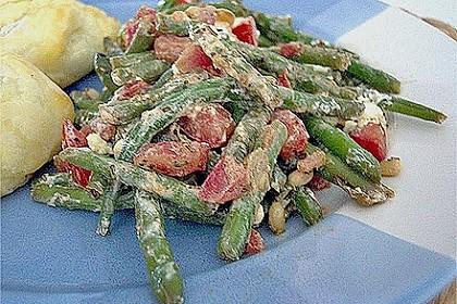Antipasti mit grünen Bohnen und Pinienkernen 10