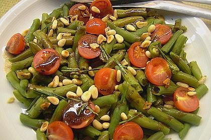 Antipasti mit grünen Bohnen und Pinienkernen 4