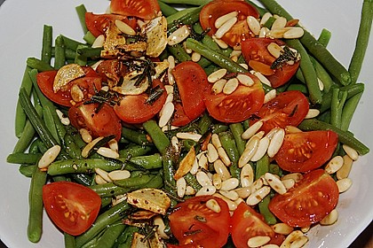 Antipasti mit grünen Bohnen und Pinienkernen 3