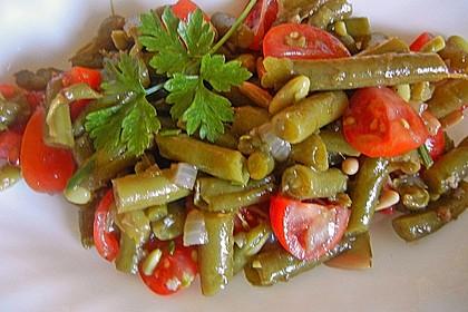 Antipasti mit grünen Bohnen und Pinienkernen 6
