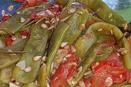 Antipasti mit grünen Bohnen und Pinienkernen 8
