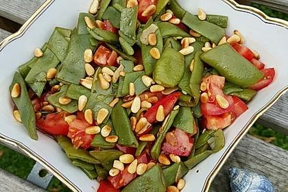 Antipasti mit grünen Bohnen und Pinienkernen 7