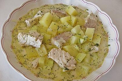 Helgoländer Kartoffelgulasch mit Fisch 0