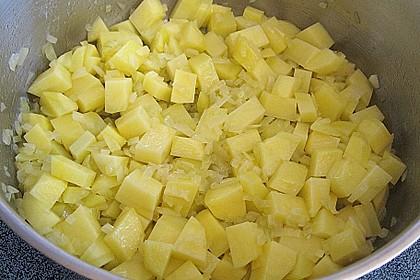 Helgoländer Kartoffelgulasch mit Fisch 4