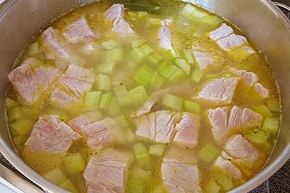 Helgoländer Kartoffelgulasch mit Fisch 2