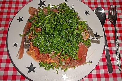 Pasta mit Rucola, Mascarpone und Parmaschinken 23