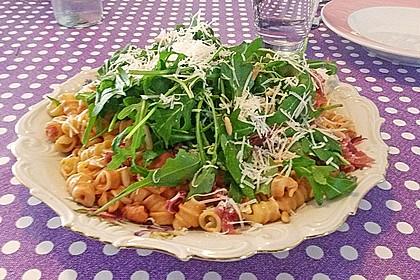 Pasta mit Rucola, Mascarpone und Parmaschinken 10