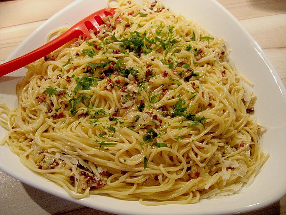 Rezept backofen rezepte spaghetti carbonara for Koch gerichte