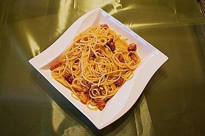 Spaghetti carbonara 7