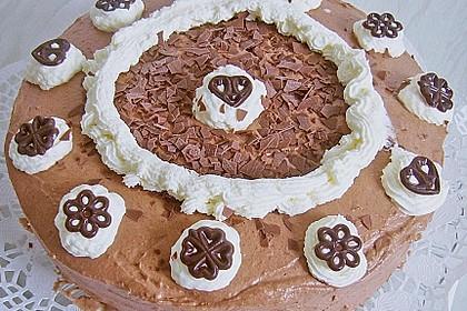 Schokoladen - Sahne - Torte für Eilige 10