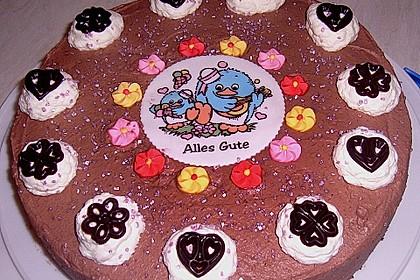 Schokoladen - Sahne - Torte für Eilige 4