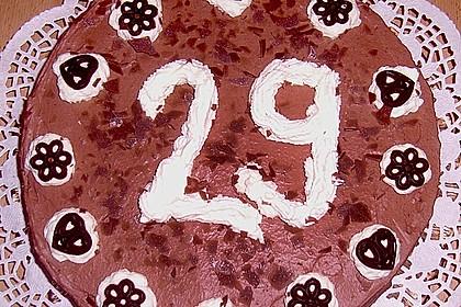 Schokoladen - Sahne - Torte für Eilige 8