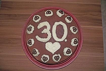 Schokoladen - Sahne - Torte für Eilige 9