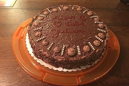 Schokoladen - Sahne - Torte für Eilige 1