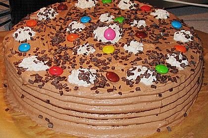 Schokoladen - Sahne - Torte für Eilige 5