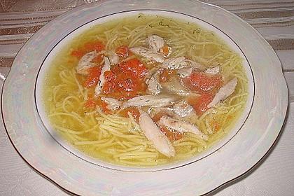Goldgelbe Hühnersuppe 45