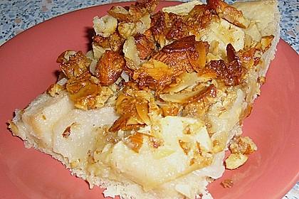 Apfel - Birnen Kuchen Florentiner Art 1