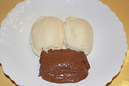 Mousse au Chocolat, hell oder dunkel 18